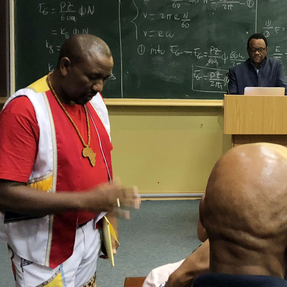 The Abalozi, the Spiritualist and the Teacher: Dr VVO Mkhize